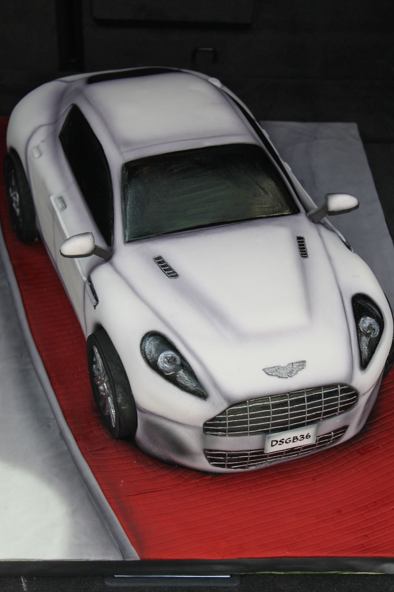 Aston Martin Vehicle Cakes Pinterest Aston Martin Cake And