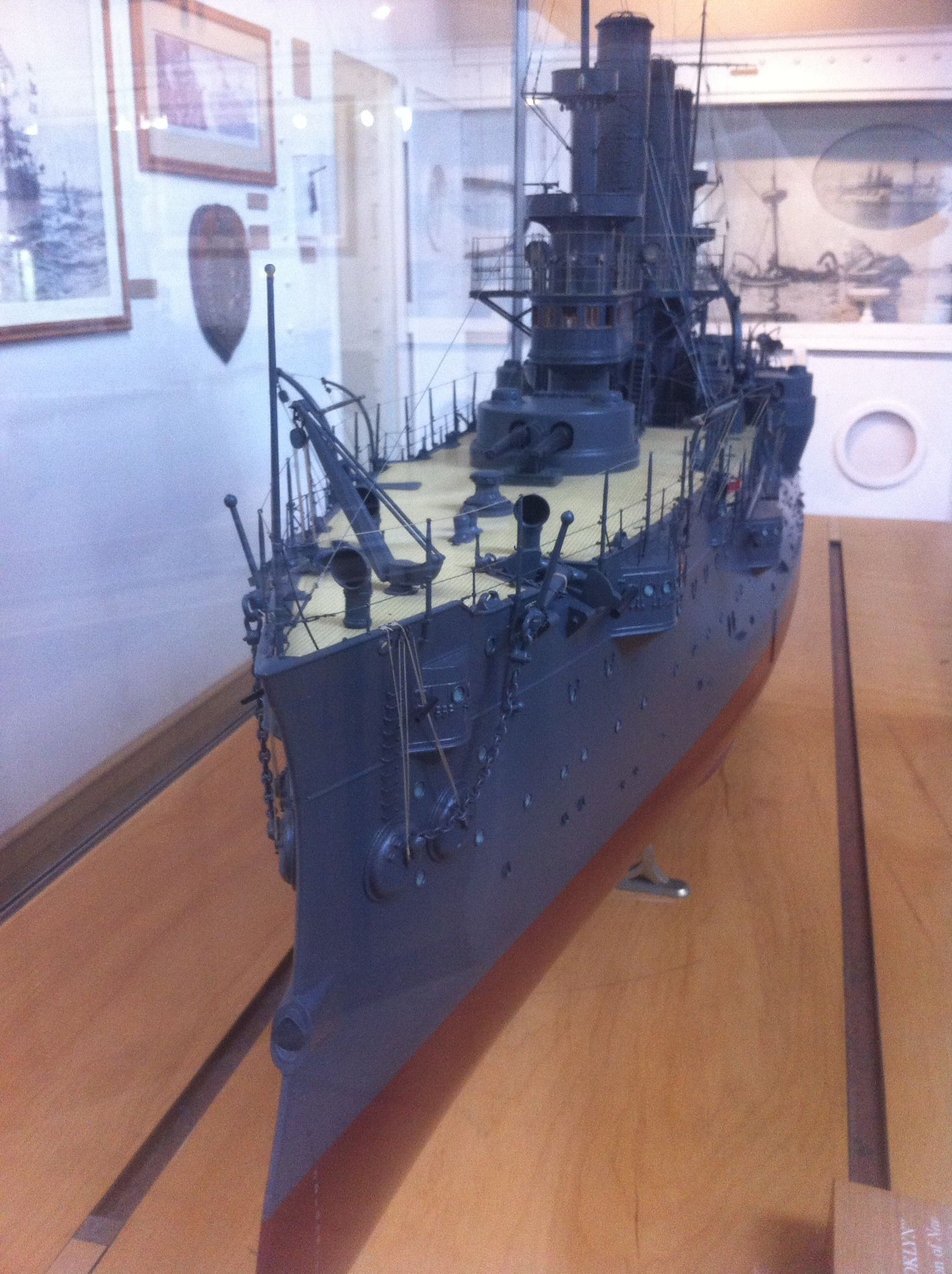 Model Of The Uss Brooklyn Navy Museum Washington Navy Yard Military Antiques D Day Normandy Military History