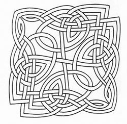 graphic about Printable Celtic Knot Patterns named Absolutely free Printable Celtic Knot Layouts routines templates π