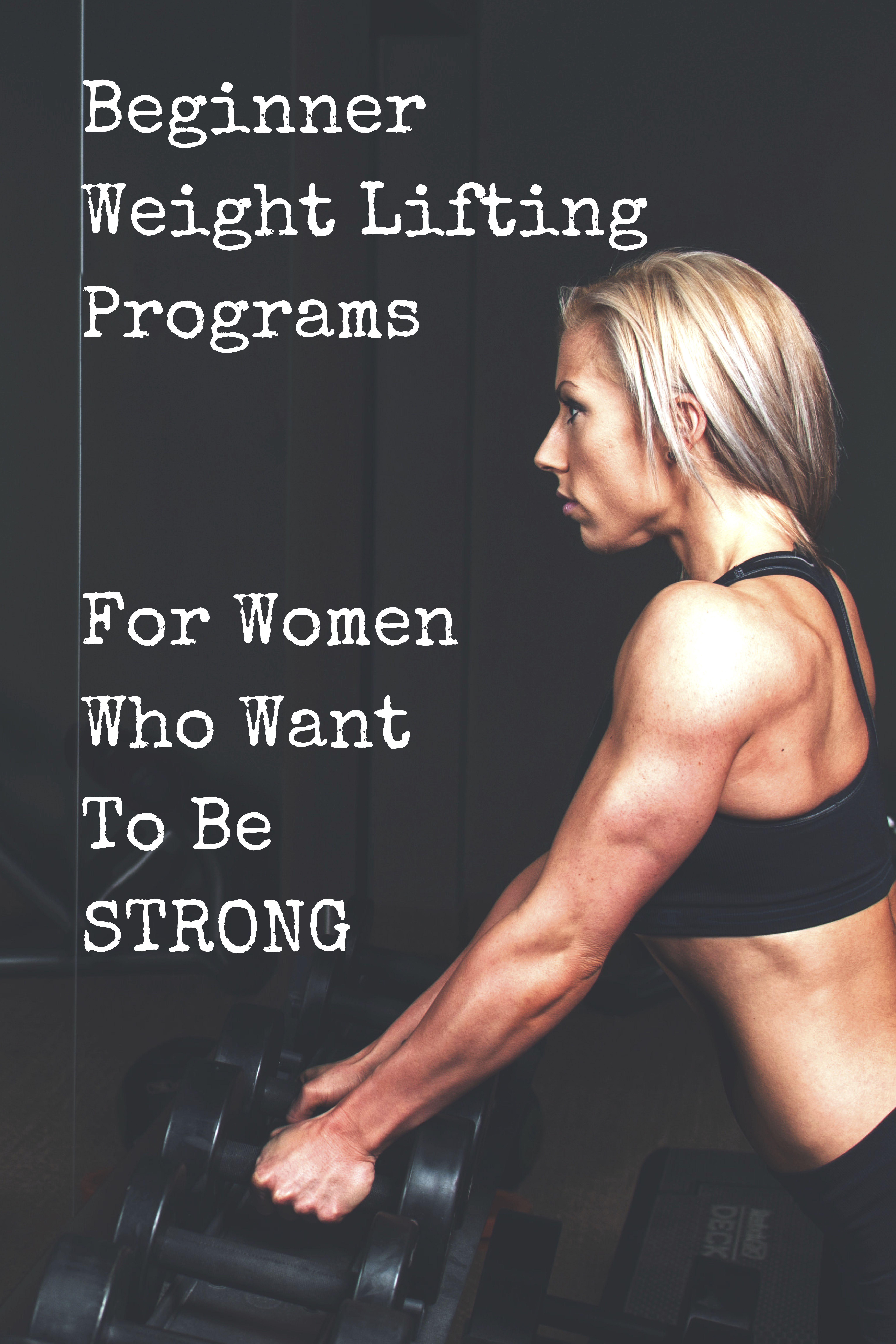 Best Beginner Weight Lifting Programs