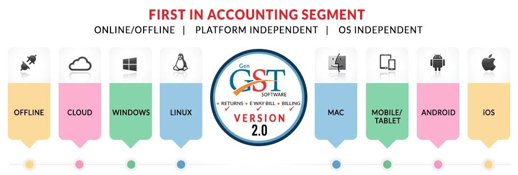 Gen GST Software | Taxation and Business Software in 2019