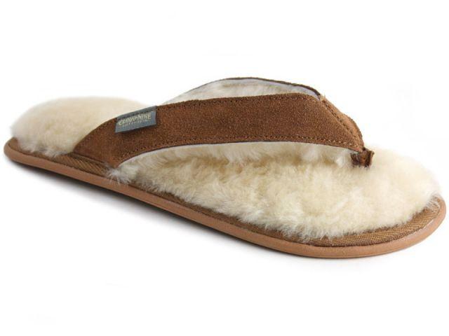 ac770d1f0 Sheepskin Lined Flip Flops