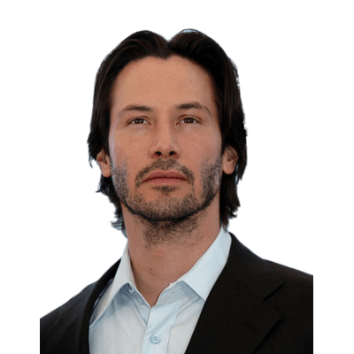 Keanu Reeves Transparent Png Images Stickpng Keanu Reeves Pictures Keanu Reeves Patchy Beard