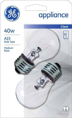 Ge Appliance Light Bulb 40w A15 Pack Of 6 Home Light Bulb