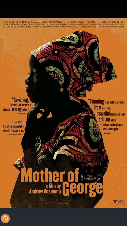 "Movie:  ""Mother of George"""