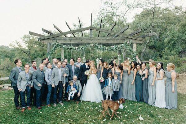 IMPRESIONANTE boda rústica chic! Nunca el campo tuvo tanto estilo! | Preparar tu boda es facilisimo.com