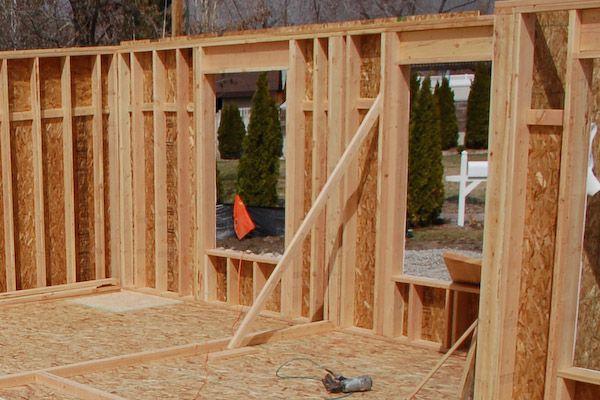 Framing Exterior Wall Bracing Frames On Wall Interior Walls Wall
