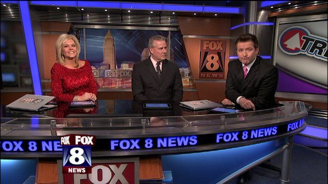 CLEVELAND- We were really feeling the love on FOX 8 News at