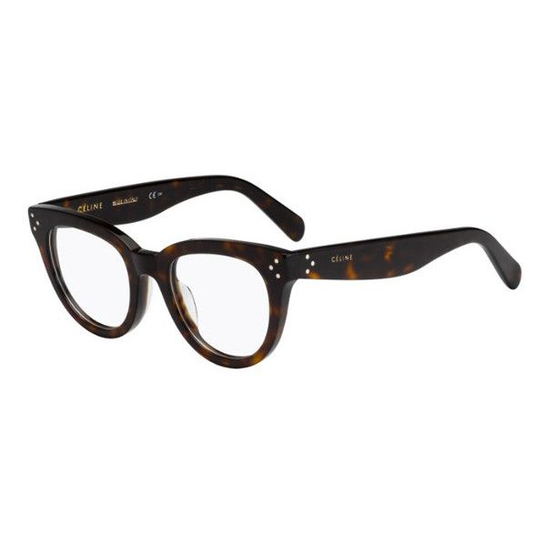568c6802bad0 Celine CL 41379 Anna 086 Eyeglasses ( 220) ❤ liked on Polyvore featuring  accessories