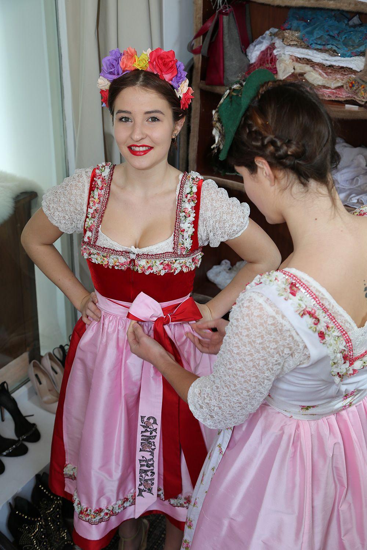 Hochzeitsdirndl Mairoserl - Samtherz  |  S♥