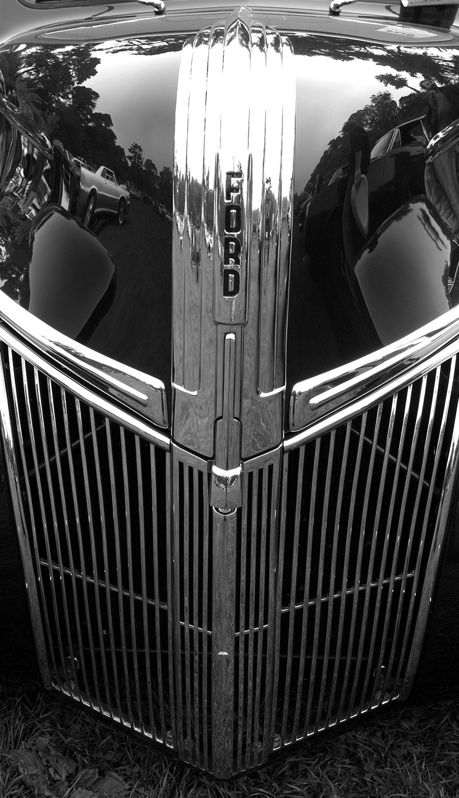 1941 Ford Pickup Check Out The 41 Lincoln Grill If You Like This One Ford Pickup Old Ford Trucks Ford Classic Cars
