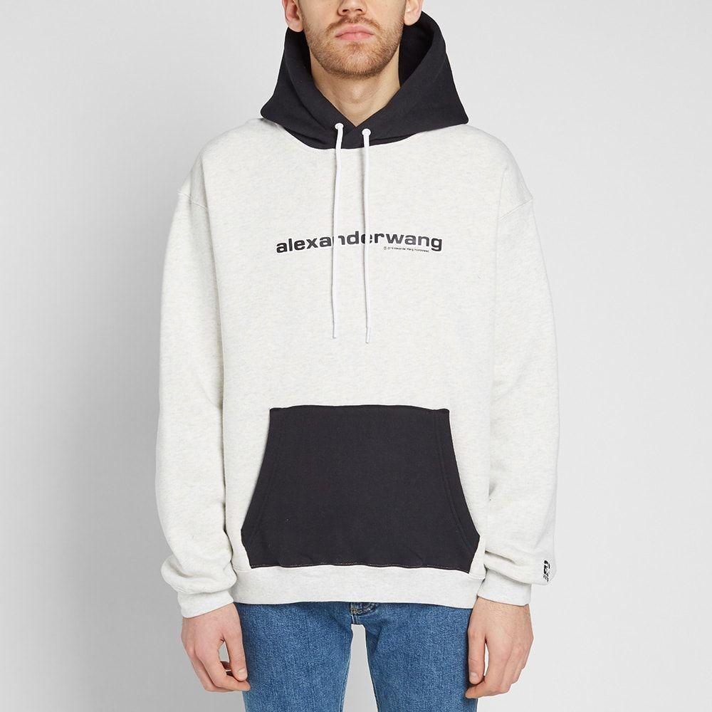 Men Two Tone Letter Print Drawstring Hoodiefor Women Romwe Hoodies Men Mens Sweatshirts Hoodie Cool Hoodies [ 1066 x 800 Pixel ]