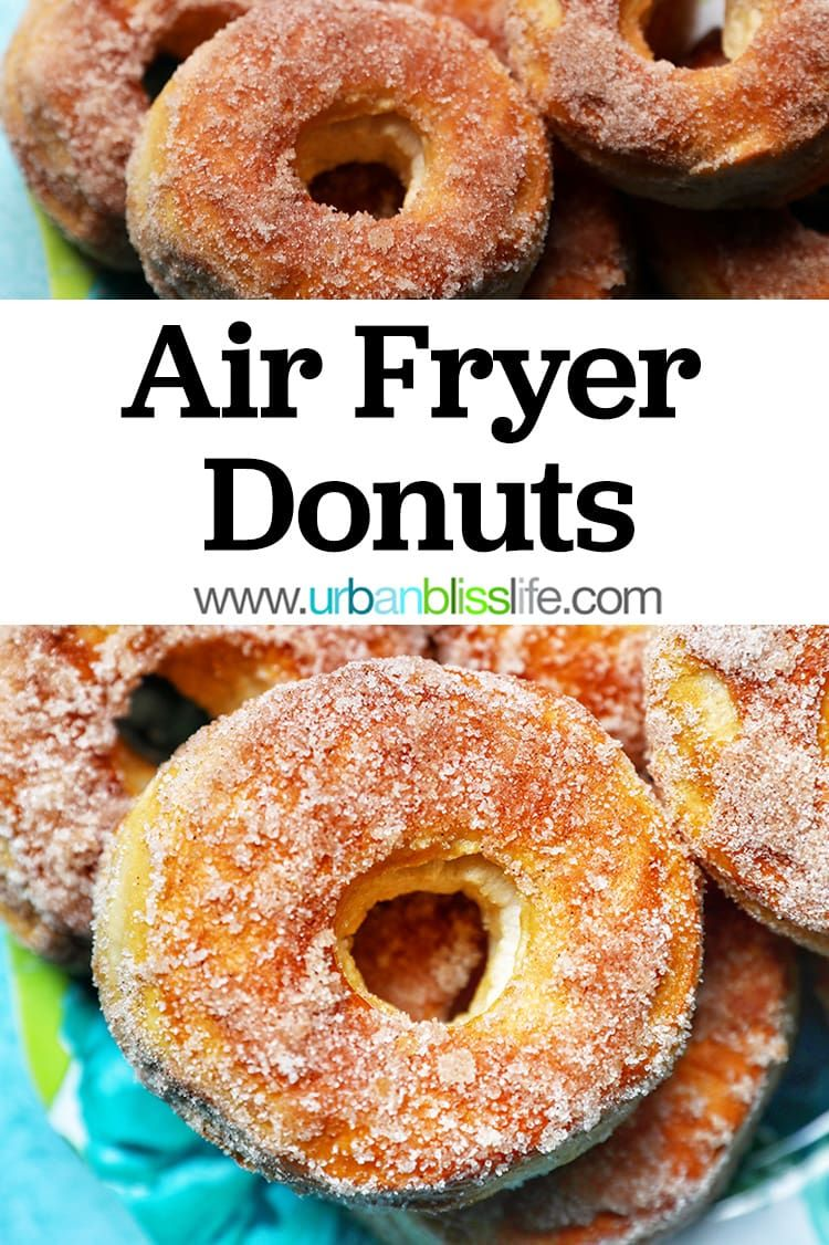 Easy air fryer donuts recipe cooking seafood air