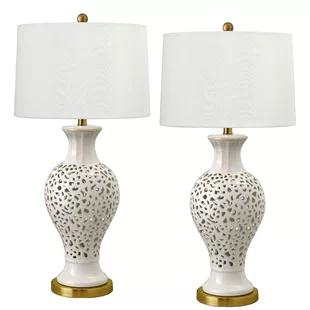 Winston Porter Hammd 33 Table Lamp Wayfair In 2020 Table Lamp Lamp Lamp Sets