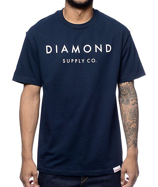 check out 0ba3a 73faf Get your shine on in the Yacht Type tee from Diamond Supply Co that  features a