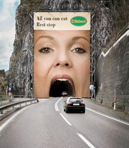 ¿Qué te parece esta publicidad para un restaurante tipo buffet?  Facebook: AurigaCoolMarketing  @AurigaCoolMkt