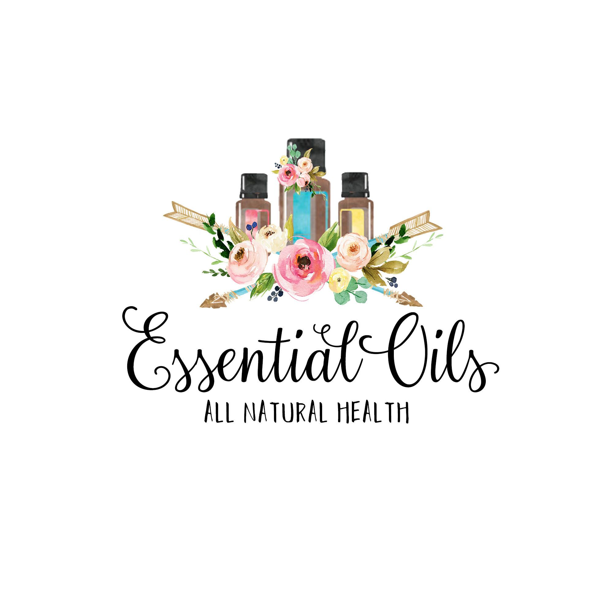 Premade Logo Essential Oils Premade Logo Photography Logo Boutique Logo Logo Design Logo Branding Ess Essential Oils Business Herbal Logo Essential Oils