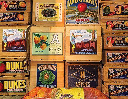 NEW Springbok Vintage Labels Jigsaw Puzzle (500-Piece)