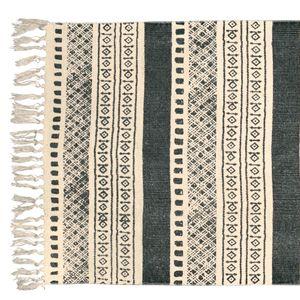Tapis De Couloir Rectangulaire En Coton Ikat Tapis Couloir Tapis Tapis Coton