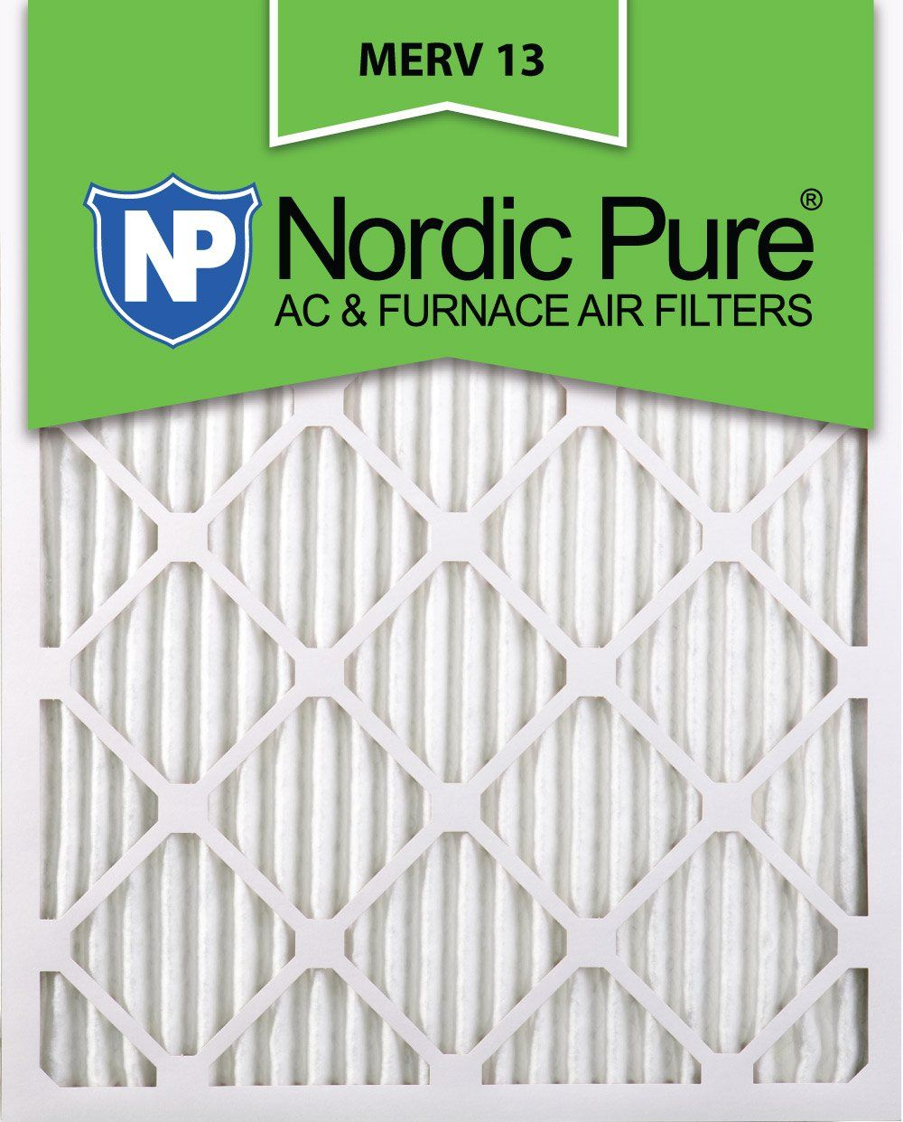 Nordic Pure 10x20x1 MERV 13 Pleated AC Furnace Air Filters