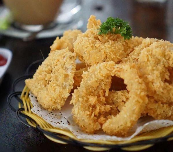 Resep Crispy Onion Rings Iniresep Com Resep Ide Makanan Resep Masakan Indonesia Cemilan