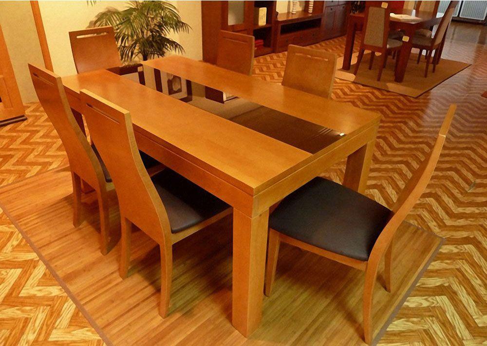 Brezo Mesa Comedor | MUEBLES MADRID. Muebles baratos y modernos ...