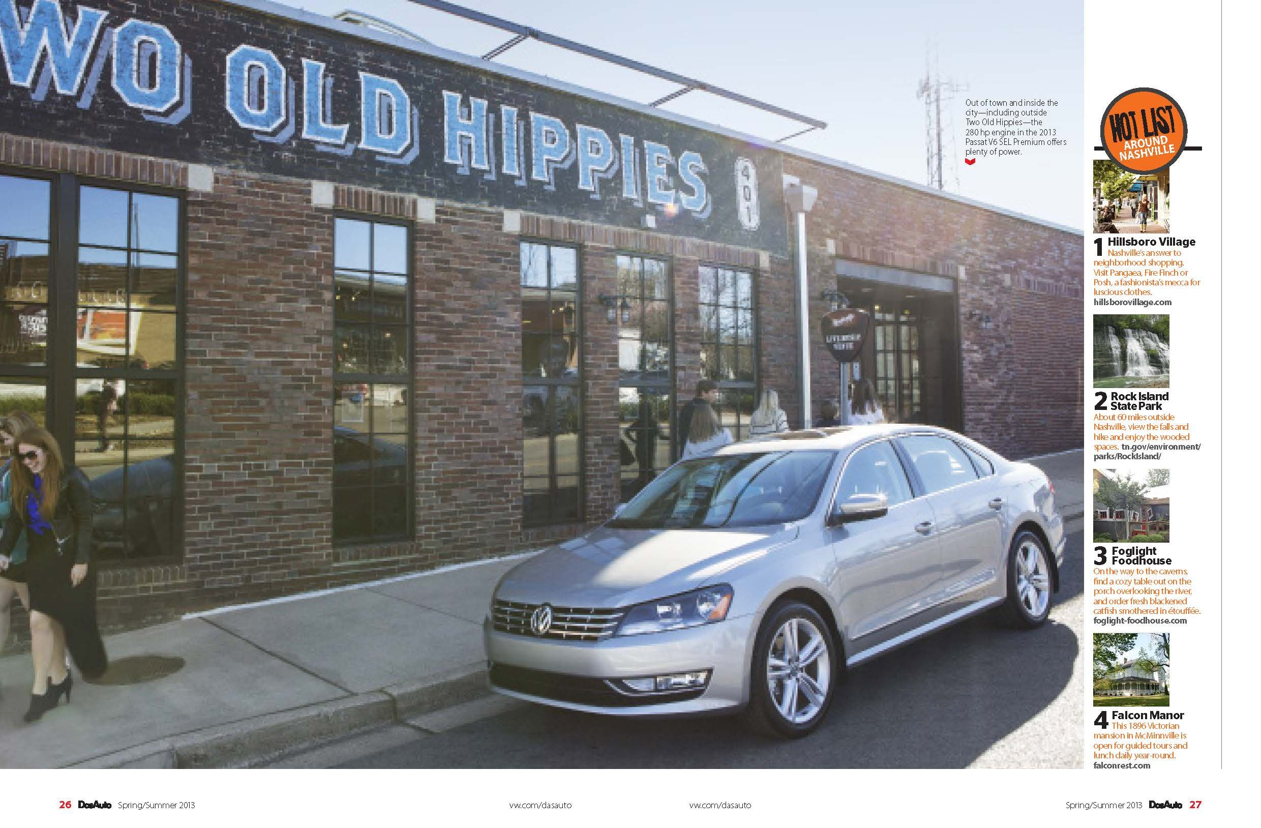 Two Old Hippies in Das Auto's Greener Nashville issue! www.twooldhippies.com 615-254-7999