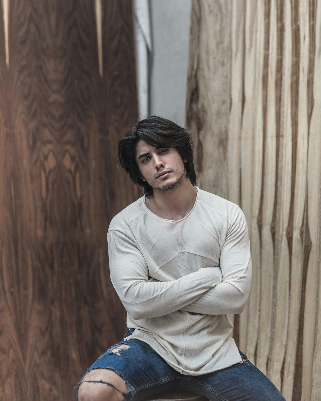 danyal zafar  Long hair styles men, Gents hair style, Men hair color