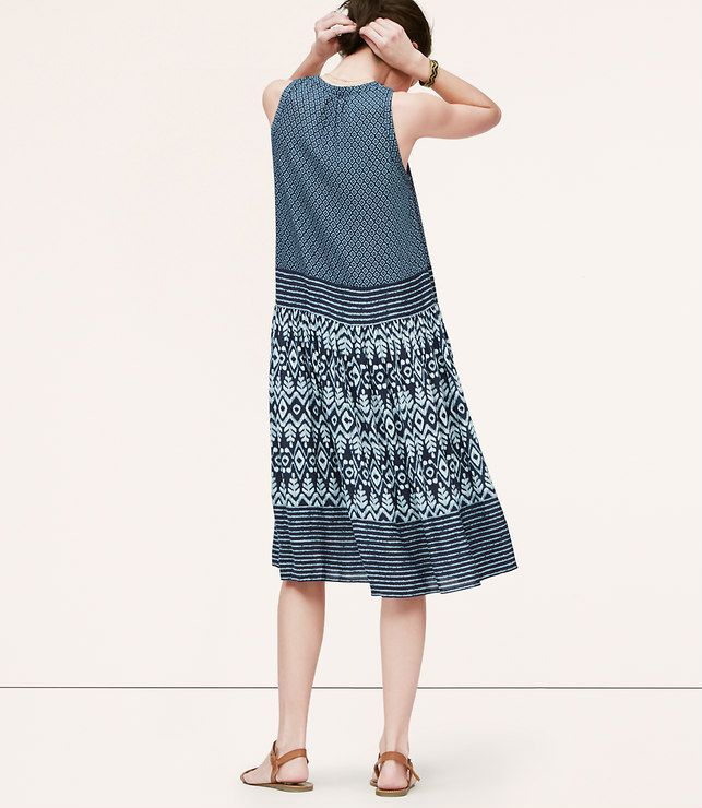 Thumbnail Image of Color Swatch 3890 Image of Petite Boho Midi Dress
