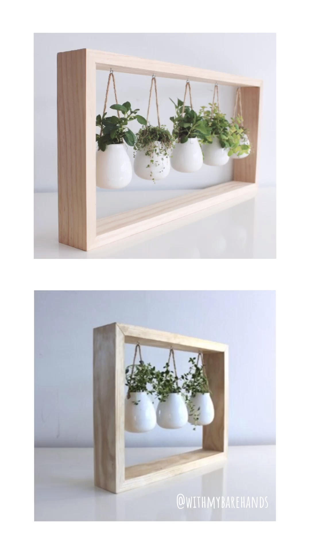 A Gift For The Greenthumb -   18 plants DIY wood ideas