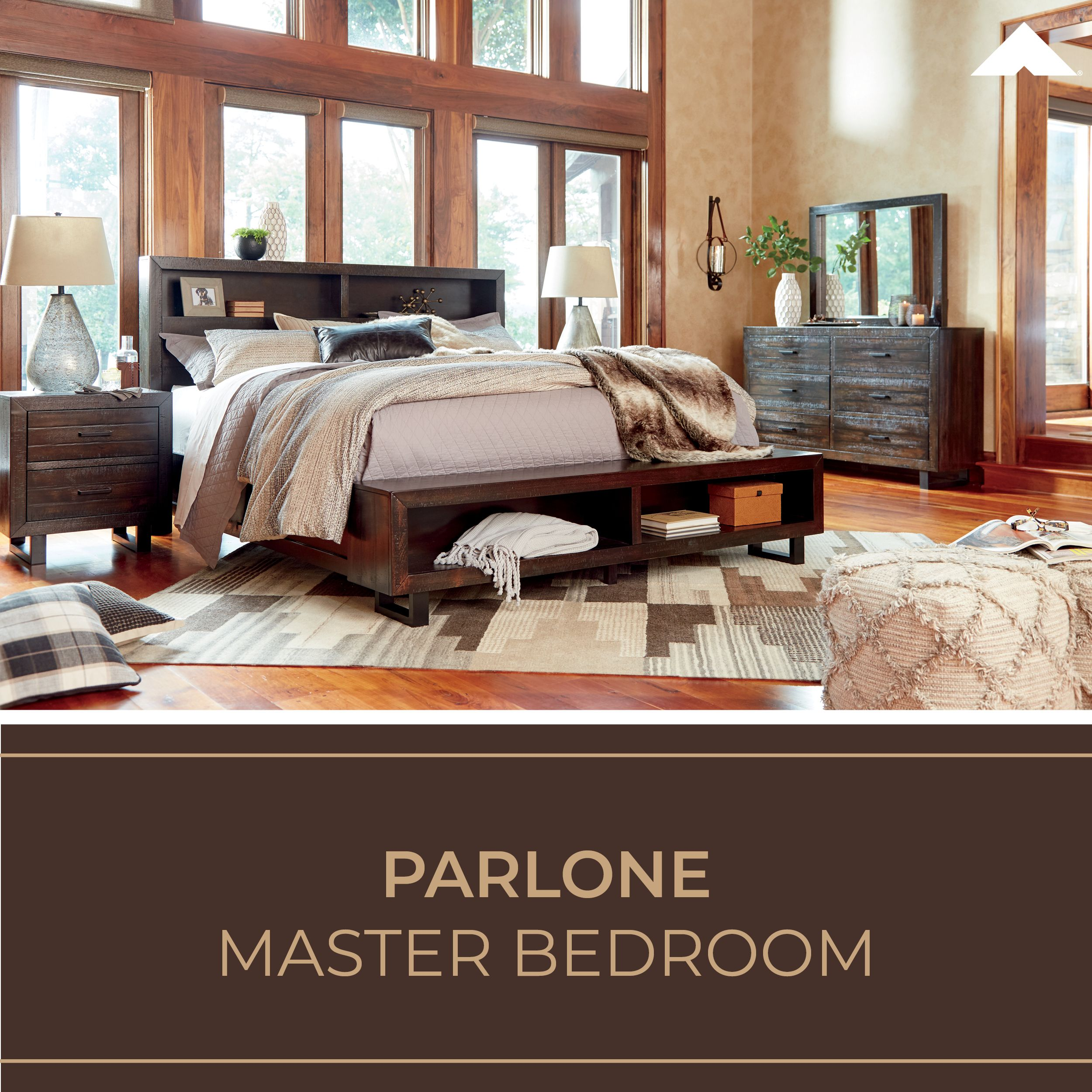 Master bedroom goals  Parlone Casual Master Bedroom Furniture by Ashley Furniture