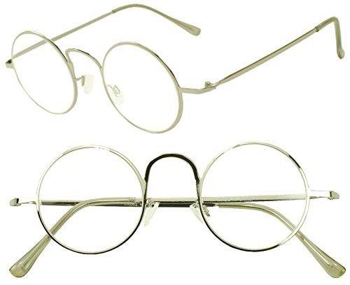 1e4902d3cb Vintage Round 45mm Classic Unisex Rx Optical Prescription Reading Glasses  Positive Strength 1.00 - 3.50 (