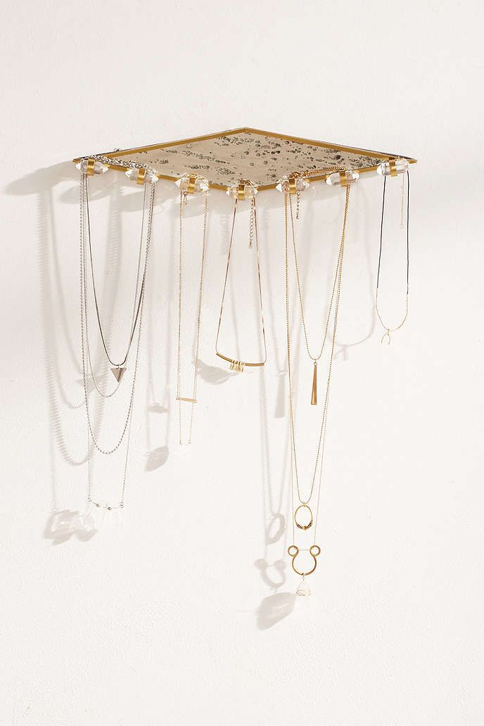 Crystal Jewelry Organizer Spaces and Room