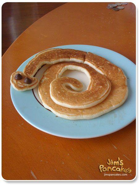Rattlesnake pancake