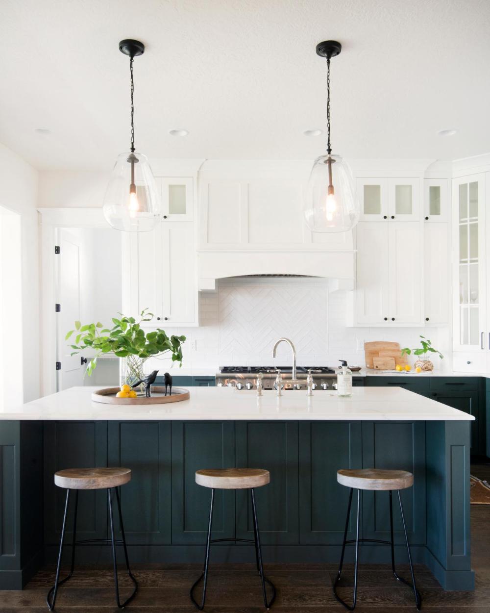 10 Blue-tiful Kitchen Cabinet Color Ideas