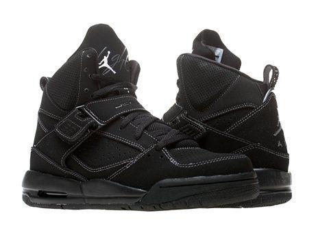 all black jordan flights