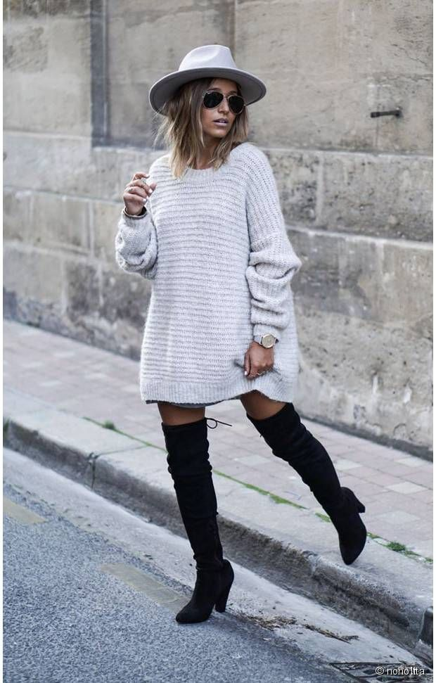 Noholita - Cuissardes + robe pull   Winter ⛄ 49084d51c62d