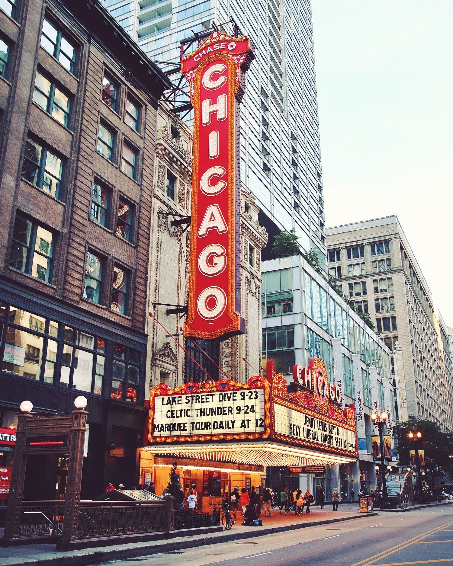 Chicago Theatre - no shows during our visit, but possibly a tour?