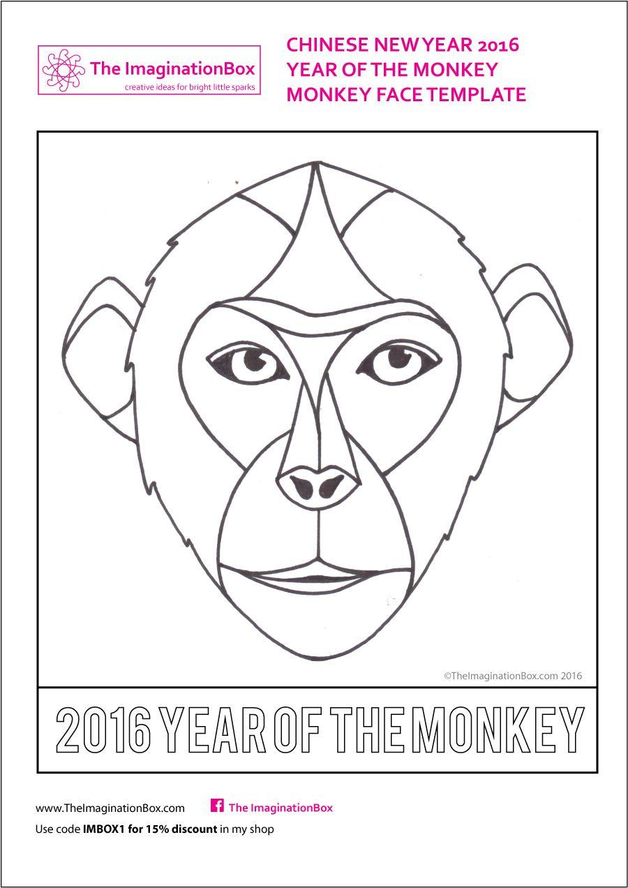 monkey-face-template.jpg 900×1272 pixels