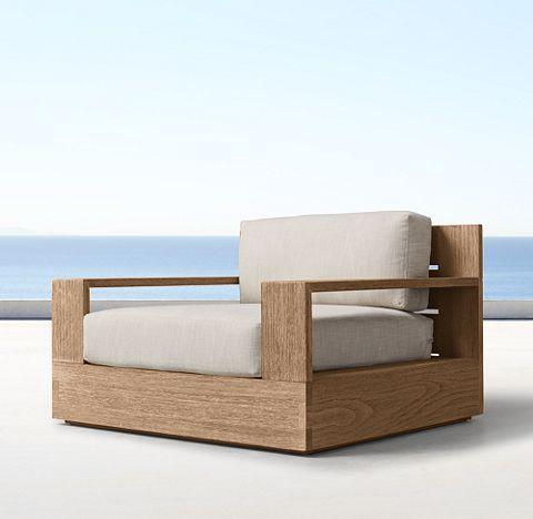 RHu0027s Marbella Teak Collection   Natural. Contemporary Outdoor FurnitureTeak  ...