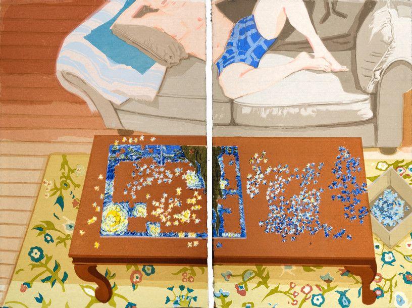 Making Starry Night by Stella Ebner