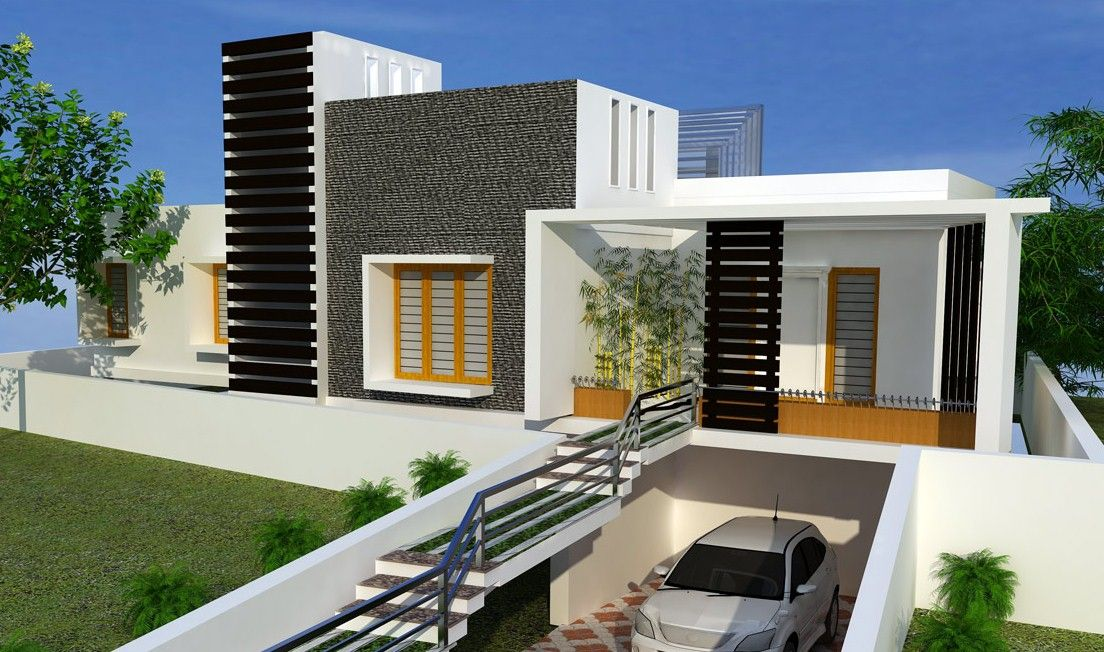 Modern Underground Garage Google Search Kerala House Design House Designs Exterior House Design