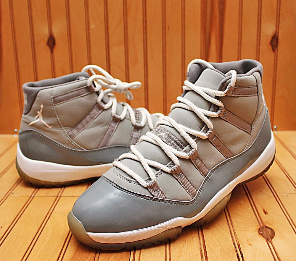 promo code 2c38c aad21 2010 Nike Air Jordan XI 11 Retro Size 12 - Cool Grey White - 378037 001    Clothing, Shoes   Accessories, Men s Shoes, Athletic   eBay!