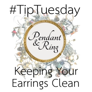 #TipTuesday Earring Hygiene – Pendant and Ring #pendantandring #howto #cleanearrings