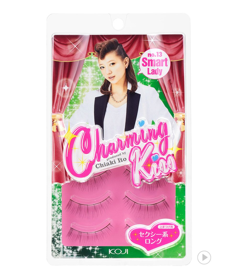 Charming Kiss Eyelash No.13 Smart Lady 챠밍키스 아이래쉬 No.13 스마트 레이디