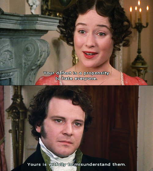 pride and prejudice lizzie darcy relationship