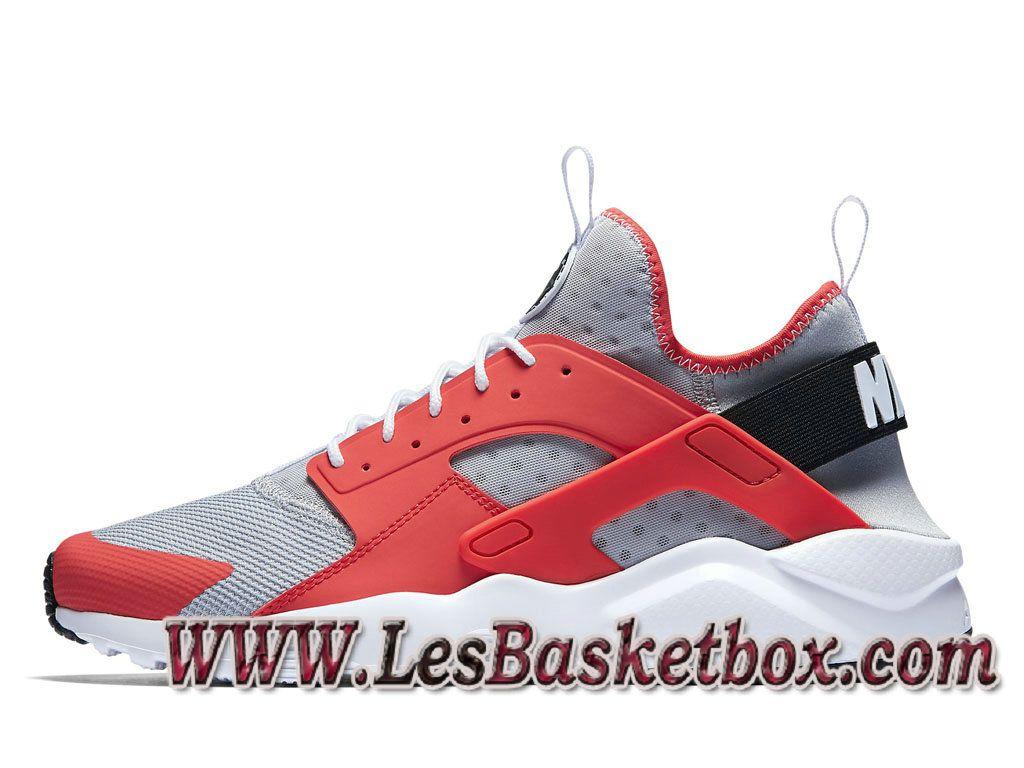 new concept 8f902 82a9d Nike Air Huarache Ultra Wolf Grey 819685-800 Chaussures Officiel Urh Site  Pour Homme -