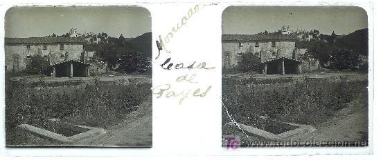Montcada Casa De Payés 1920 S Cristal Positivo Estereo Q0 4x4 3cm Cristales 4x4 Fotografía Antigua