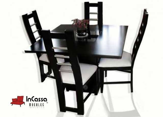 Antecomedor minimalista mod ibiza incluye mesa y sillas for Comedores ripley chile