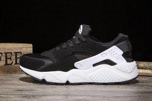 5e1dd6f609e4e Mens Womens Nike Air Huarache Run Black White Running Shoes